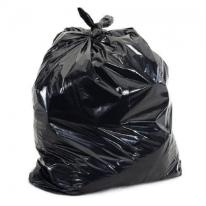 Garbage Bags Black Plain  Per Kg.