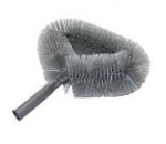 Gray Heavy Fan Brush