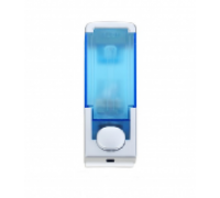 Push Button Soap Dispenser White And Blue(330 ML)